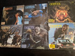 Cinefex magazines, random ones, late 90s early 2000s for Sale in Las Vegas, NV