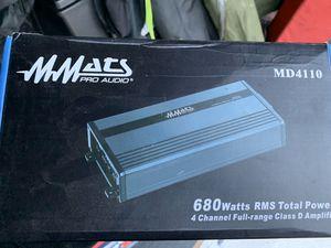 MMATS pro audio MD4110 for Sale in Boston, MA