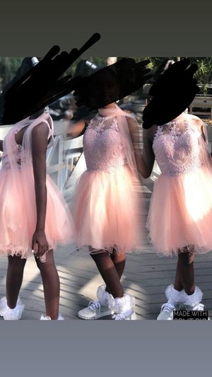 Light pink prom dress for Sale in North Lauderdale, FL