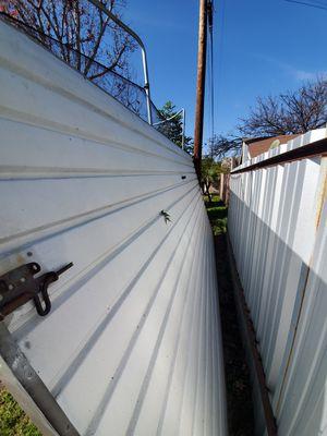 """Garage door Lenth 7ft × width 178"""" for Sale in Downey, CA"""