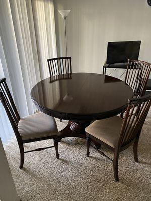 Dining Table and Chairs for Sale in Columbia, MD