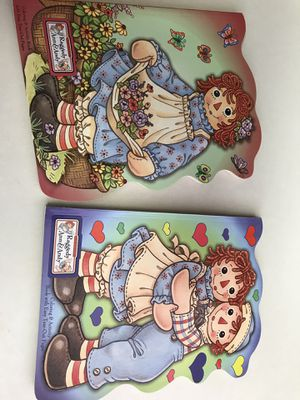 Vintage Raggedy Ann & Andy Coloring Books for Sale in Charlotte, NC