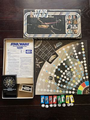 Vintage Star Wars JEU Board game Escape from Death Star for Sale in Brighton, CO