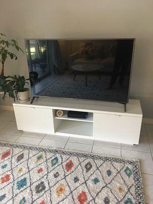 Brand new white high gloss media unit for Sale in Sarasota, FL