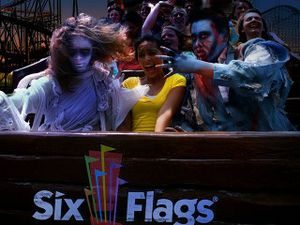 Sixflags fright fest day passes for Sale in Grand Prairie, TX