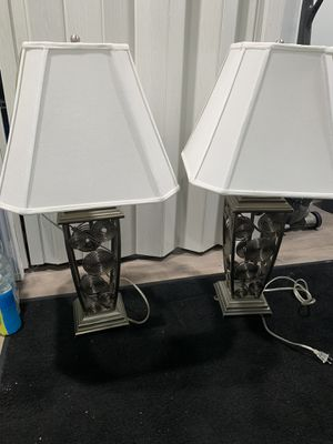 Matching lamps for Sale in Wood Dale, IL