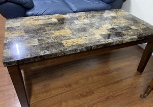 Faux Marble Coffee comes . It's great condition. No scratches. for Sale in Westminster, CA