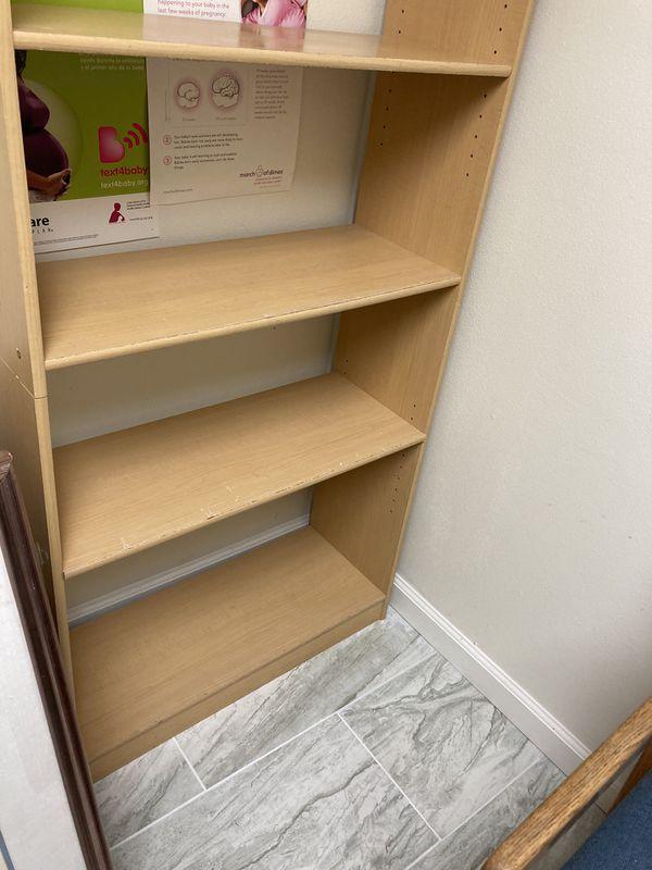 Light Wooden Bookshelf