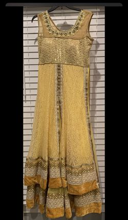 Yellow Afghan Dress for Sale in Gainesville,  VA