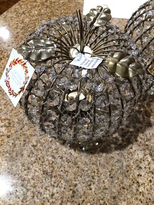 Fall crystal candle holder for Sale in Vancouver, WA