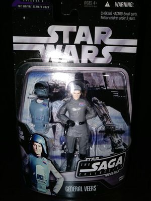 Star Wars Saga Collection EP V General Veers. for Sale in Dallas, TX