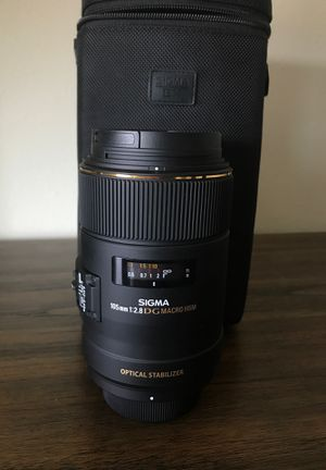 Sigma 105mm 2.8 DG macro HSM Nikon Mount for Sale in Denver, CO