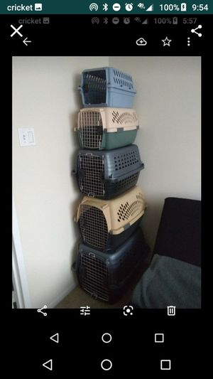 Dogs and Cats Crates Kennels Carriers different Sizes for Sale in Alexandria, VA