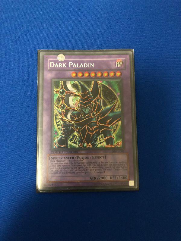 Yugioh Dark Paladin DMG-001