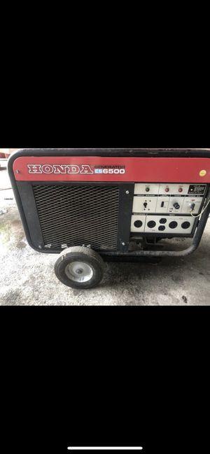 Honda 6500 generator for Sale in Miami, FL