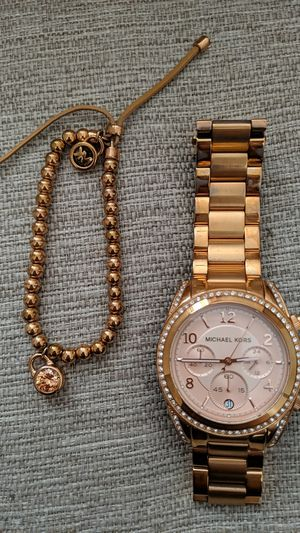 Rose Gold Authentic Michael Kors Watch for Sale in Youngtown, AZ