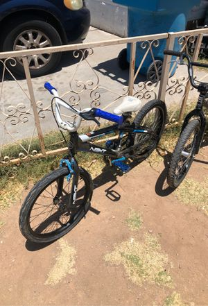 Two used bikes Haro og and next with bmx parts for Sale in Phoenix, AZ