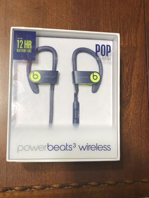 Beats by Dr. Dre Powerbeats3 Wireless Pop Indigo Pop Collection in Ear Headphones for Sale in Phoenix, AZ