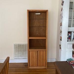 Tall Wooden Bookcase for Sale in Atlanta, GA