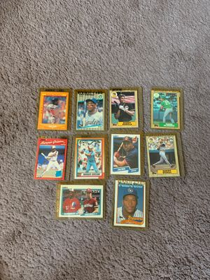 87-90 baseball rookie lot. ( Barry bonds, Gary Sheffield and more for Sale in Olympia, WA
