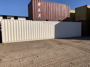 40' Painted Shipping Container with a Lock Box for Sale in Phoenix, AZ