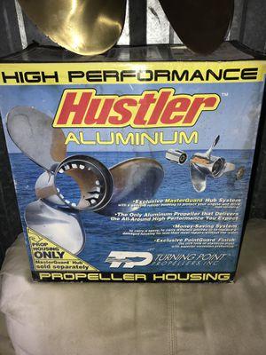 Brand new in box Hustler aluminum boat propreller for Sale in Streamwood, IL