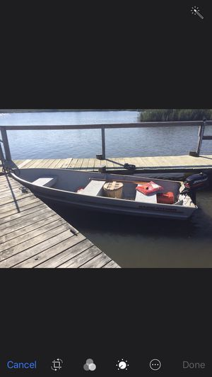 14 foot crab/fish boat. Will trade for golf cart for Sale in Edgewater, MD