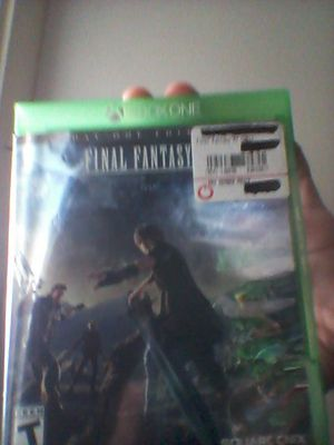 xbox 1 games (dbz xenoverse 2,and FFXV for Sale in West Palm Beach, FL