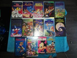 14 Disney VHS for Sale in Dallas, TX