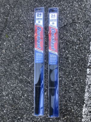 2 WINTER WIPER BLADE DURALAST 24 600mm for Sale in The Bronx, NY