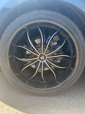 """22"""" Mazi Rims and Tires for Sale in DuPont, WA"""