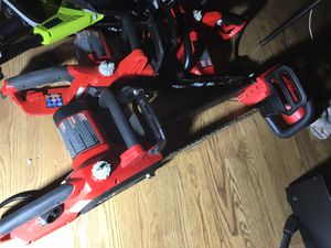 Homelite Electric Chainsaws! Only 10 Each tomorrow 💥💥👍🏽 for Sale in Irving, TX
