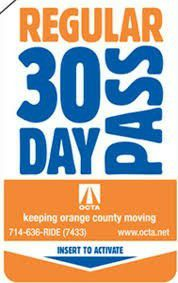 31 day pass , for Sale in Santa Ana, CA