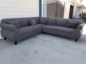 NEW 9X9FT ANNAPOLIS GRANITE FABRIC SECTIONAL COUCHES for Sale in Moreno Valley, CA