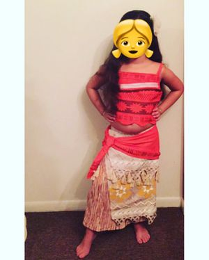 Disney- Moana Costume - Size 7/8 for Sale in Plantation, FL