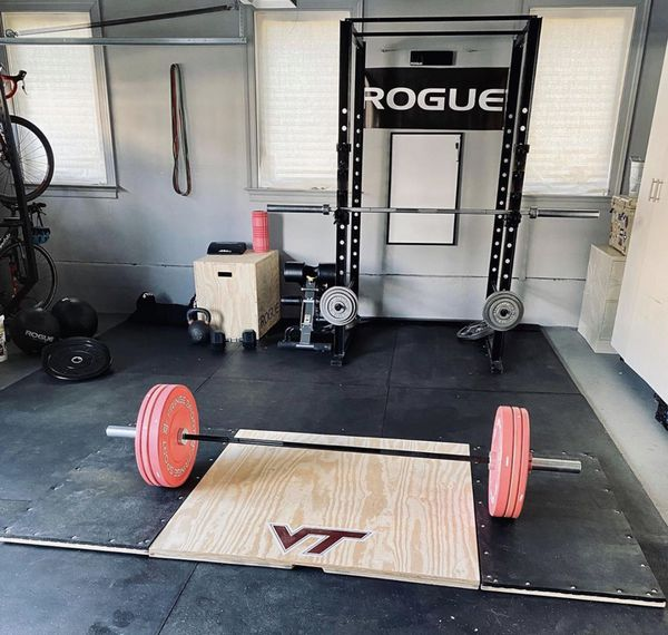 *PLATFORM ONLY* Olympic Weightlifting/Deadlift Platform (4x8, 6x8, and 8x8 available)
