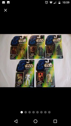 1996 Star Wars Collection 5 figures for Sale in Spring, TX