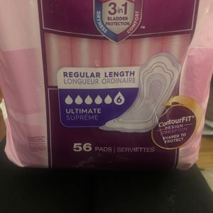 New Poise Incontinence Pads, Ultimate Absorbency, Regular, 56 Count for Sale in Rancho Cucamonga, CA