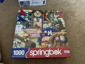 Springbok puzzles 10 altogether or buy 1 for Sale in Puyallup, WA