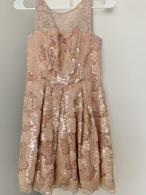 Anthropologie blush sequin dress for Sale in San Francisco, CA