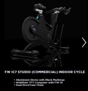 Indoor Cycling Bike and Free Weights for Sale in Washington, DC