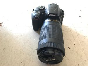 Nikon d3400 barley usesd comes with extra lense and carrying bag serious inquiries only no low ballers no trades askin 320$ shoot me with offers for Sale in Richmond, CA