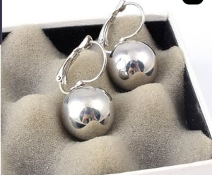 Gold Silver Plated Earrings Fashion Jewelry Big Round Ball Pendant Earrings for Women Gifts Wedding Accessory for Sale in Miramar, FL