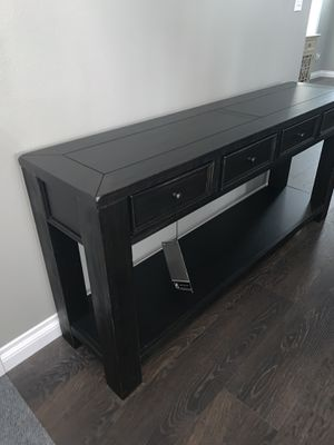 Ashley Console Table for Sale in Spanaway, WA