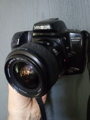 Minolta Maxxum 400 Si Film SLR w/Lens TESTED for Sale in Chino, CA