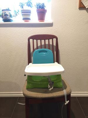 Fisher Price Healthy Care booster seat high chair for Sale in Seattle, WA