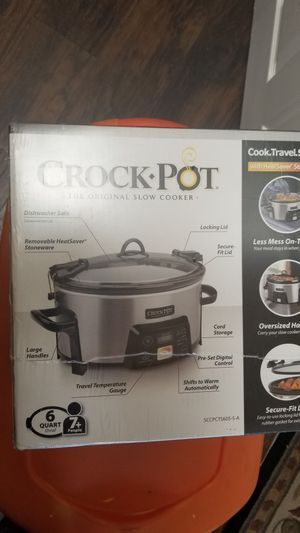 Brand new Crock Pot sealed box for Sale in San Clemente, CA