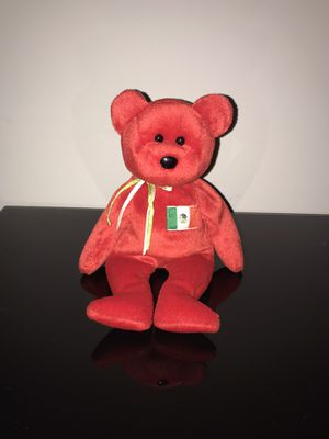 Ty Beanie Baby Osito Mexican Flag for Sale in Harrisonburg, VA