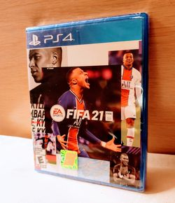 PS4 FIFA SOCCER 21 BRAND NEW FACTORY SEALED for Sale in Escondido,  CA