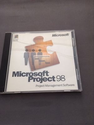 Microsoft Project 98 for Sale in Braintree, MA